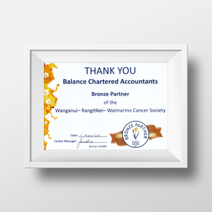 Balance Accounting Design Maketing Cancer Society